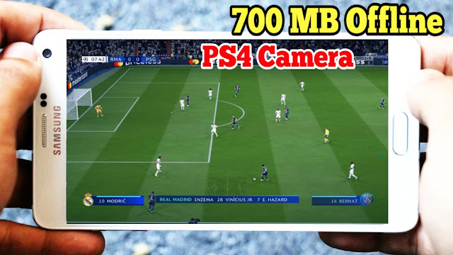 Download FIFA 2020 Android Offline 700 MB PS4 Camera Best Graphics