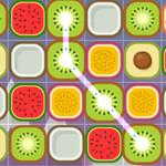 لعبة توصيل الفواكه المتشابهه