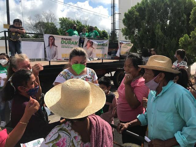 Mildred Raquel Durán Segovia, escucha, para ser la voz del pueblo