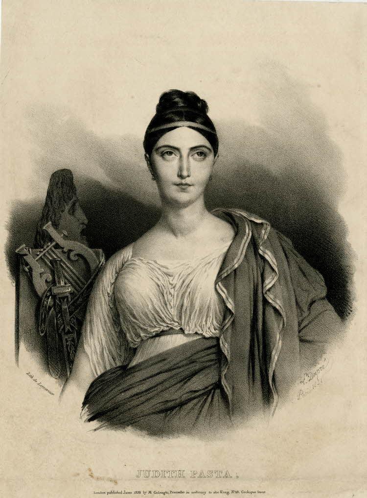Spencer Alley: Giuditta Pasta (1797-1865) - Romantic Icon