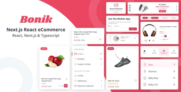 Best React eCommerce Template with NextJS