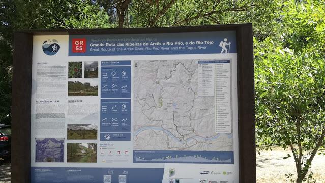 Grande Rota das Ribeiras de Arcês e Rio Frio, e do Rio Tejo