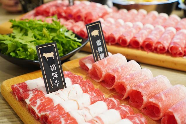 台南北區美食【富士匠鍋物】餐點介紹-霜降牛
