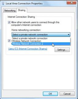 Cara merubah komputer menjadi router akses wifi/ hotspot