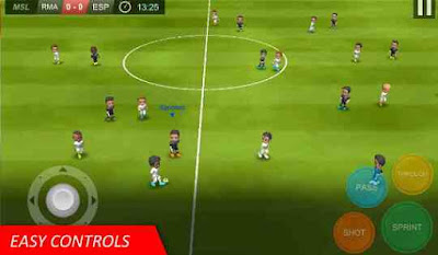 Aplikasi Game bola Mobile Soccer League
