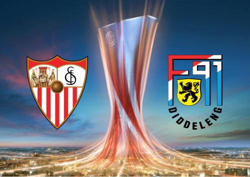 Sevilla vs F91 Dudelange -Highlights 24 October 2019