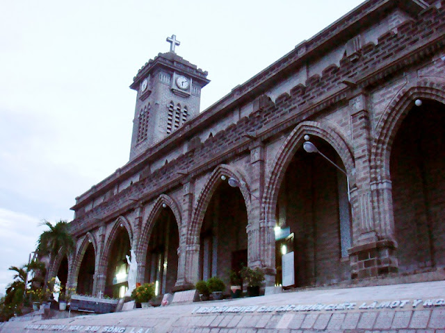 Unique architectural works Stone church in Nha Trang