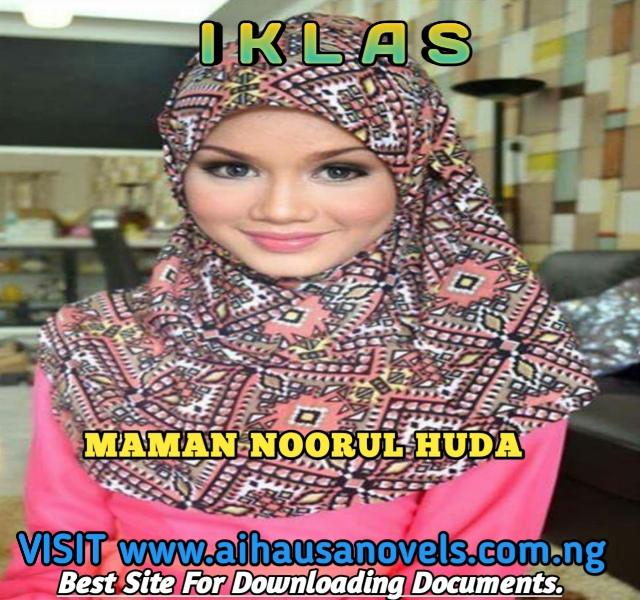IKLAS Hausa Novel By Maman Noorul Huda