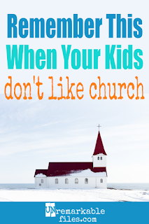 What should you do as a parent when your kid resists going to church as a family? There's no one-size-fits-all answer, but every parent needs to remember this one thing when it comes to kids, faith, and church attendance. #parenting #parentingtips #church #kids #faith