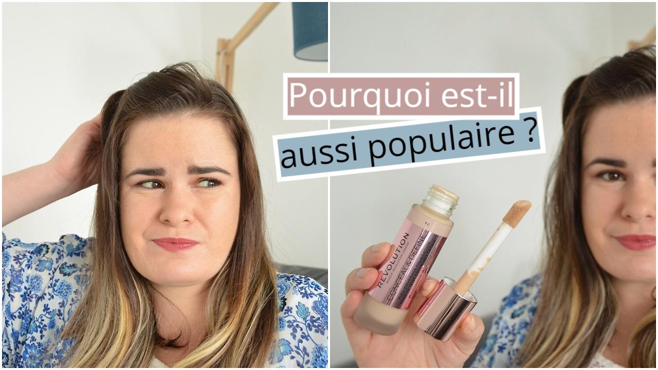 crash test fond de teint conceal and define de makeup revolution, pourquoi est-il aussi populaire