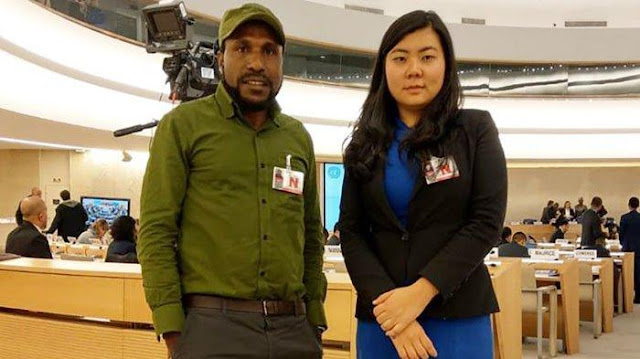 Usai Tangkap Victor YeimoTerkait Rusuh Papua 2019, Polisi Buru Veronica Koman.lelemuku.com.jpg