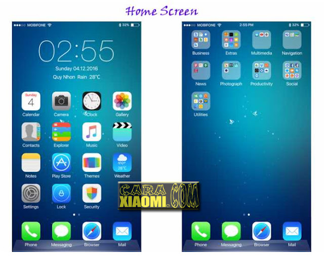 Download Tema IOS 9 Premium Untuk Xiaomi MIUI Terbaru Mtz