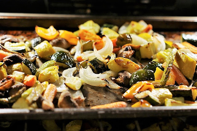 Roasting Vegetables in the Oven Image