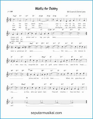 waltz for debby lagu jazz standar