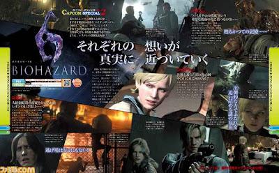Resident Evil 6: articolo della rivista Famitsu
