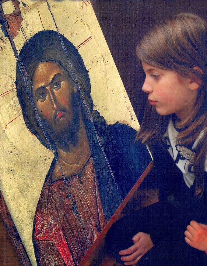 """""""Ἡ πόρτα πού μπαίνει κανένας στὴν ἐξωτικὴ χώρα τοῦ Χριστοῦ εἶναι μιὰ μοναχά, ἡ πίστη"""""""
