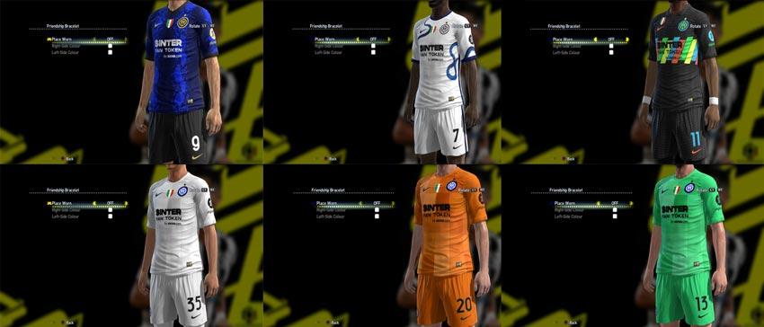 Inter Milan Kit 2021-2022 For PES 2013
