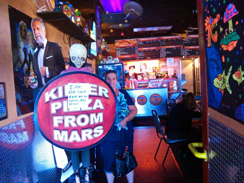 Killer Pizza From Mars