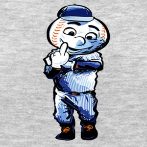 mr met middle finger shirt
