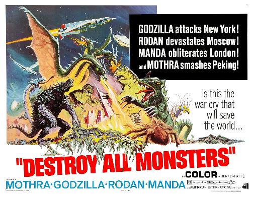 Image result for destroy all monsters