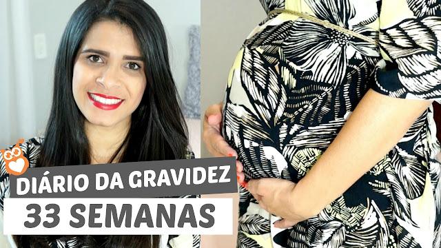 Diário da gravidez: 34 semanas (segunda gravidez)