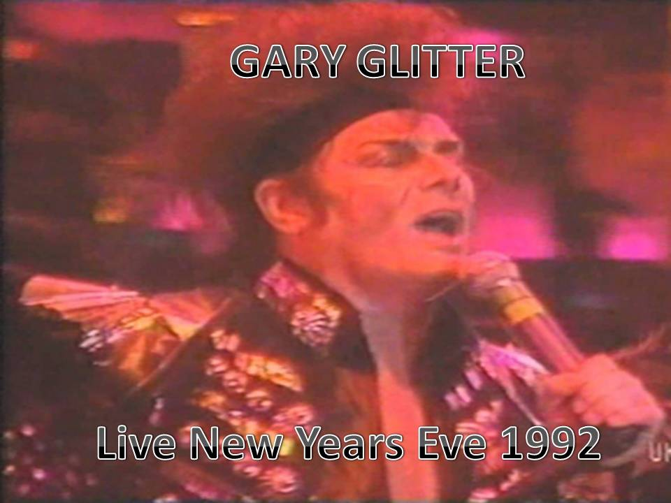 Gary Glitter Live new years eve