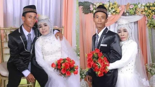 Pria 24 Tahun Menikah dengan Nenek 65 Tahun, Suami Merupakan Anak Angkat