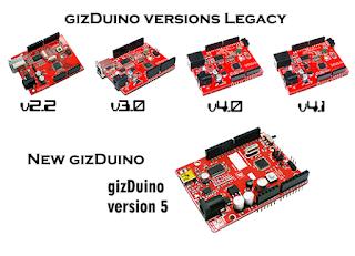 e-Gizmo gizDuino Version 5 w/ ATmega328P board | e-Gizmo Technical Blog
