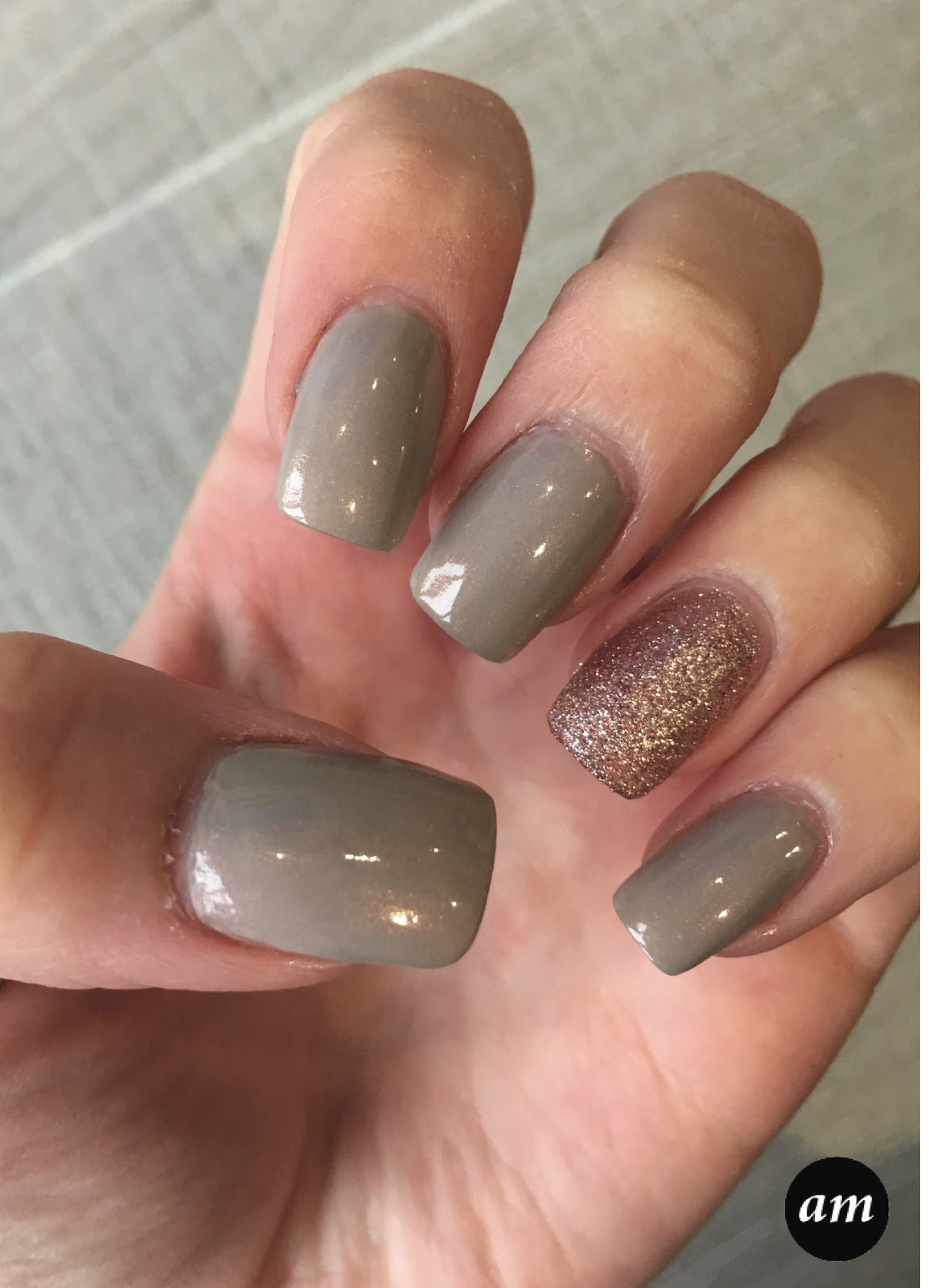 Amber McNiff | Beauty and Fashion Blog: DIY: Grey & Pink Glitter ...