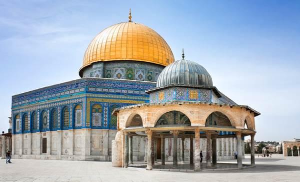 Masjidil Aqsha di Kota Yarusalem, Palestina