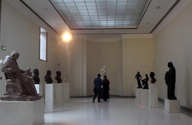 galeria de esculturas do Museu de Soares dos Reis