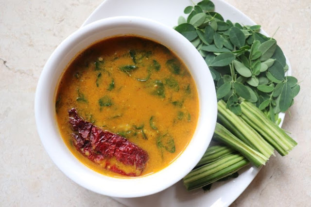Moringa Drumstick leaves curry