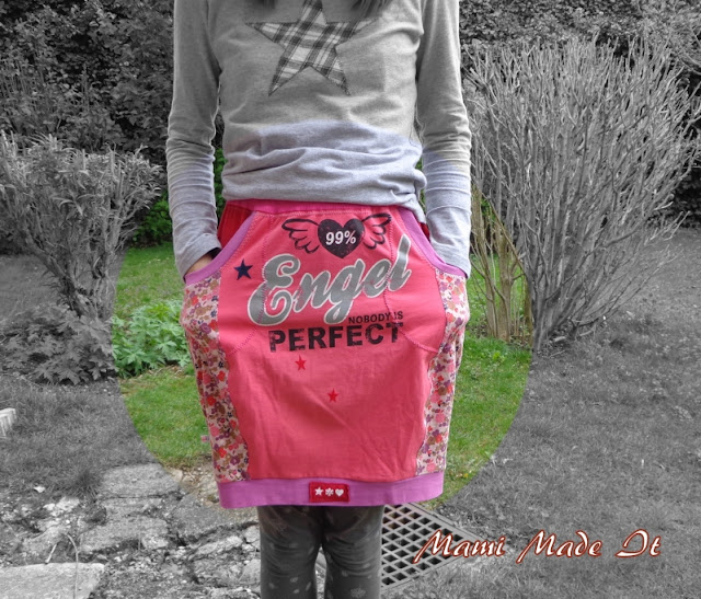 DIY - Nähen - Rock aus alten Lieblingsshirts - Mami Made It - DIY - Sew - Skirt from Old Favorite Shirts by Mami Made It