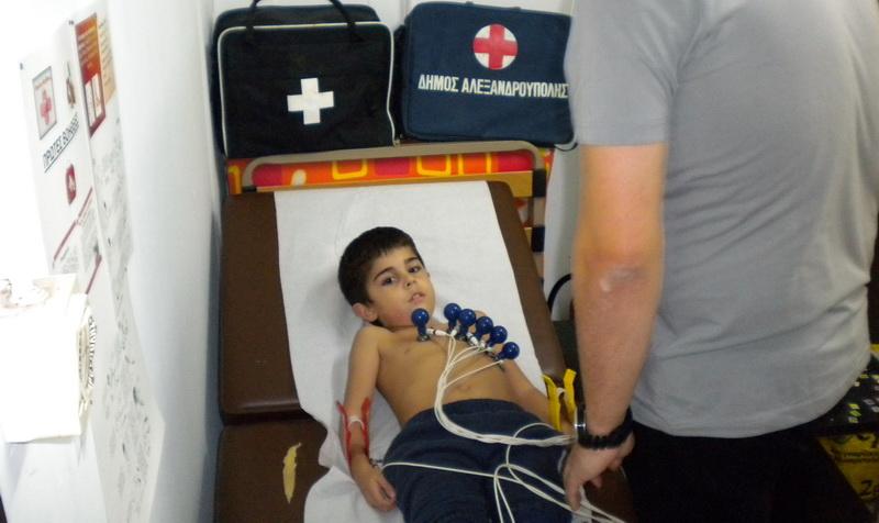 Καρδιολογικές εξετάσεις και σωματομετρικές μετρήσεις στα τμήματα υποδομής του Ποντιακού Αλεξανδρούπολης
