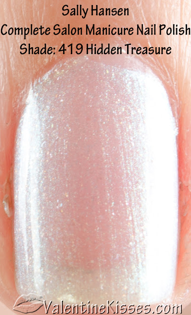 Valentine Kisses Sally Hansen Complete Salon Manicure Polishes 5 Shades Pics Swatches Review