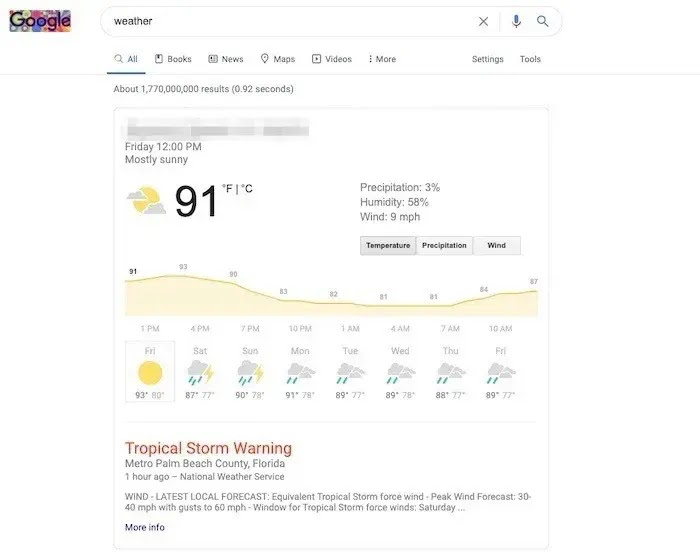 مقارنة بين محركات البحث : جوجل