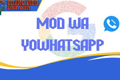 Mod WhatsApp YOWhatsapp V.8.25 Terbaru Lastest Version Gratis