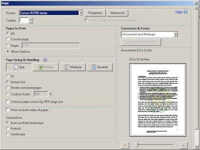 Cara Ngeprint File PDF di Laptop atau Komputer