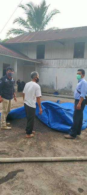 Unit Reskrim Polsek Balik Bukit Amankan Tersangka Pencuri Kopi