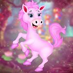 G4K Happy Pink Horse Escape