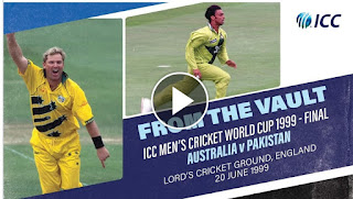 Aus vs Pak ICC CWC Final 1999 Highlights