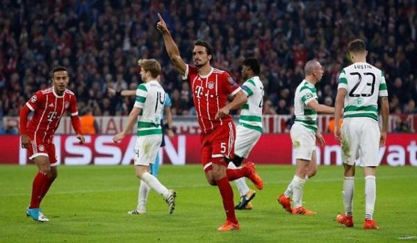 Prediksi Celtic vs Bayern Munchen Liga Champions