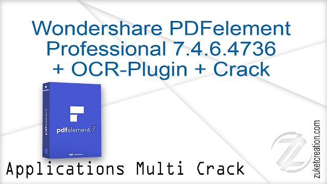 Wondershare PDFelement Professional 7.0.2.4291 + Patch  |  53 MB