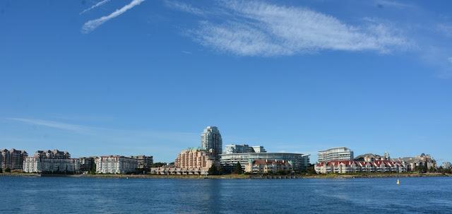 Victoria Island city sky line