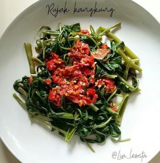Ide Resep Masak Resep Rujak Kangkung