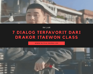Dialog Drakor Terfavorit Itaewon Class