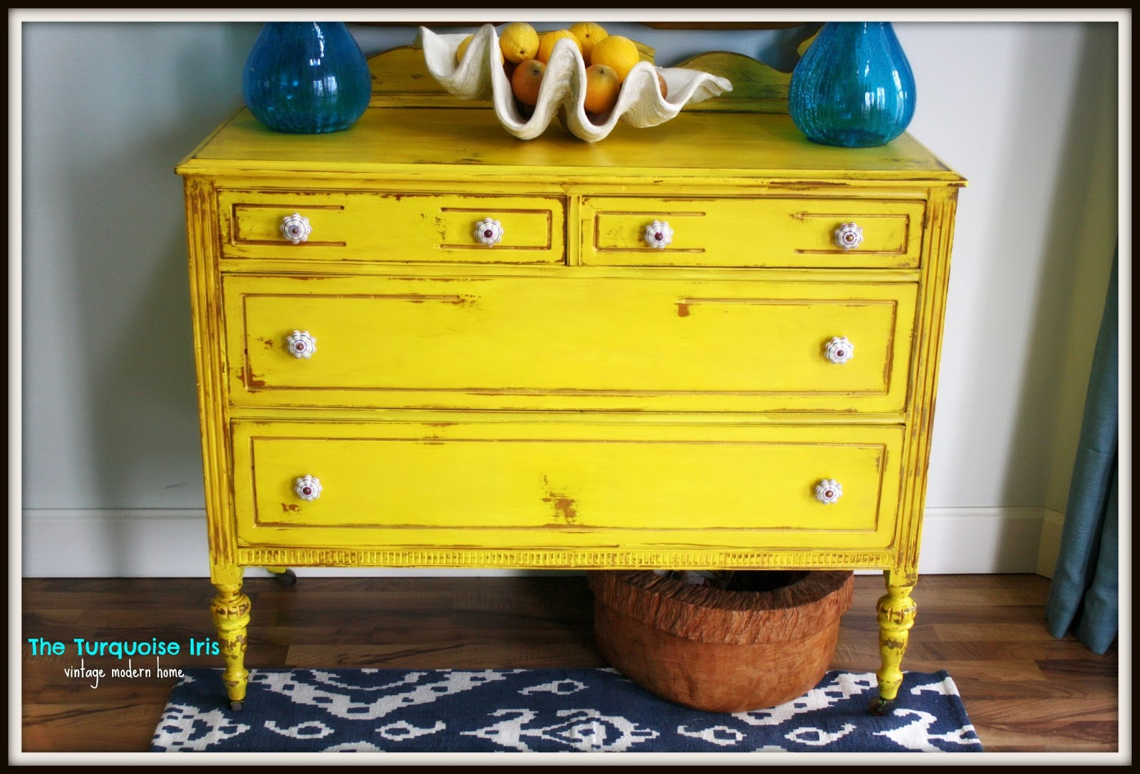 The Turquoise Iris Furniture Amp Art Antique Dresser