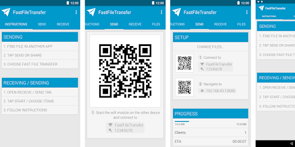 Aplikasi Fast File Transfer