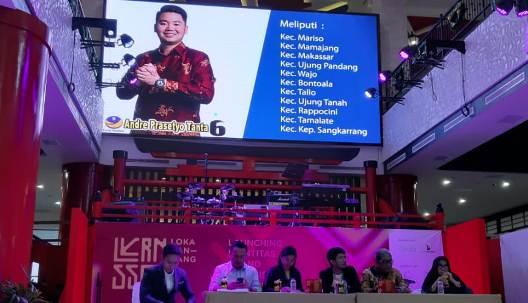 Hendra : Munculnya Foto Caleg Dilayar, Ganggu Peluncuran Logo Pariwisata Sulsel