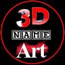 3D Name Art
